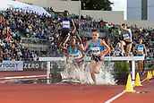 June 15th 2017, Bislett Stadion , Oslo, Norway; Diamond League Oslo Bislett Games;  Luiza Gega of Albania competes in the ladies 3000m steeplechase during the IAAF Diamond League held at the Bislett Stadium