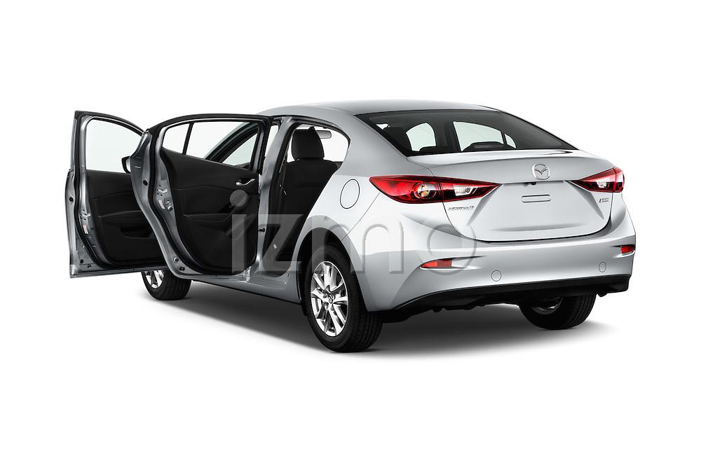 Car images of 2018 Mazda Mazda3 Sport 4 Door Sedan Doors