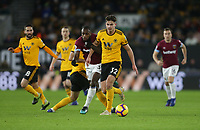 Wolverhampton Wanderers' Leander Dendoncker and West Ham United's Michail Antonio<br /> <br /> Photographer Rob Newell/CameraSport<br /> <br /> The Premier League - Wolverhampton Wanderers v West Ham United - Tuesday 29th January 2019 - Molineux - Wolverhampton<br /> <br /> World Copyright © 2019 CameraSport. All rights reserved. 43 Linden Ave. Countesthorpe. Leicester. England. LE8 5PG - Tel: +44 (0) 116 277 4147 - admin@camerasport.com - www.camerasport.com