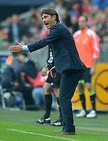 FUSSBALL   1. BUNDESLIGA  SAISON 2012/2013   2. Spieltag FC Bayern Muenchen - VfB Stuttgart      02.09.2012 Trainer Bruno Labbadia (VfB Stuttgart)