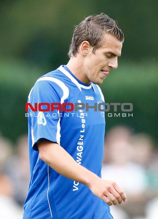 FBL  2008/2009  Testspiel<br /> Werder Bremen - Kickers Emden in Leer-Loga<br /> Thomas Klasen (Kickers #9)<br /> <br /> Foto &copy; nph (  nordphoto  )<br /> <br /> <br /> <br />  *** Local Caption ***
