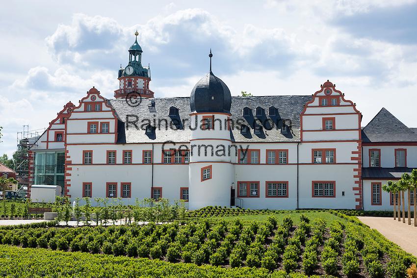 Germany, Thuringia, Ohrdruf: Ehrenstein Castle   Deutschland, Thueringen, Ohrdruf - am Nordrand des Thueringer Waldes: Schloss Ehrenstein