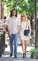 Sienna Miller & Tom Sturridge strolling in New York City