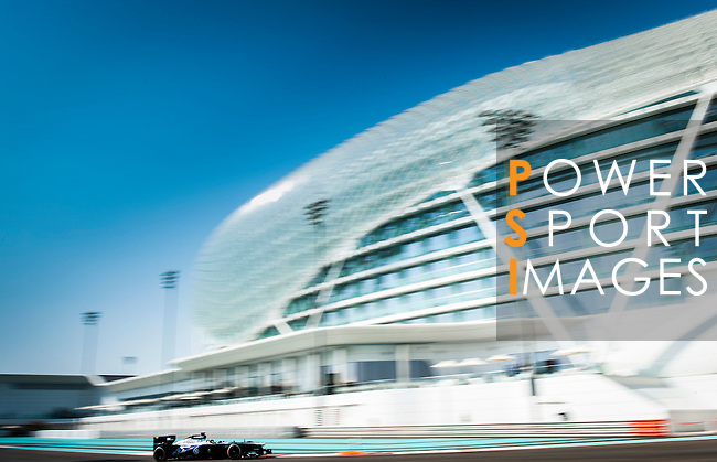 Valtteri Bottas of Finland and Williams F1 Team drives during the Abu Dhabi Formula One Grand Prix 2013 at the Yas Marina Circuit on November 3, 2013 in Abu Dhabi, United Arab Emirates. Photo by Victor Fraile / The Power of Sport Images
