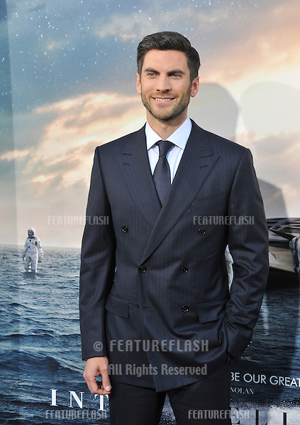 Wes Bently at the Los Angeles premiere of his movie Interstellar at the TCL Chinese Theatre, Hollywood.<br /> October 26, 2014  Los Angeles, CA<br /> Picture: Paul Smith / Featureflash