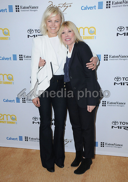 23 March 2017 - Beverly Hills, California - Malin Akerman, Debbie Levin. Environmental Media Association Hosts The EMA IMPACT Summit held at The Montage Beverly Hills in Beverly Hills. Photo Credit: Birdie Thompson/AdMedia