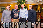 Enjoying the Lee Strand Christmas Party at the Meadowlands Hotel on Friday were  Tom Paul Keane, John Keane, Brendan Welsh, Jerry Foley.