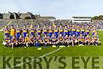 The Kenmare Team who defeated Rathmore in the Senior County Football Semi Final in Fitzgerald Stadium on Sunday.