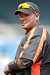 9 March 2007: Baltimore Orioles infielder Miguel Tejada prepares to take batting practice prior to facing the Washington Nationals at Fort Lauderdale Stadium in Fort Lauderdale, Florida. <br /> <br /> Mandatory Photo Credit: Ed Wolfstein Photo