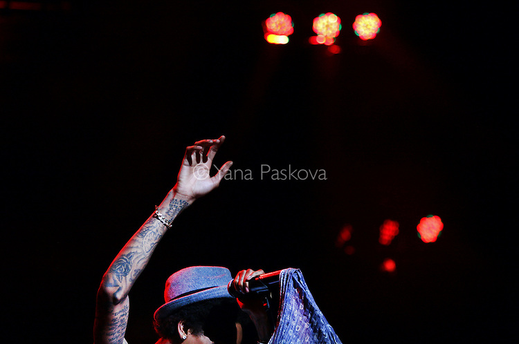 Wiz Khalifa performs at the Nikon Theater at Jones Beach in Wantagh, NY on August 02, 2012.<br /> <br /> Photo by Yana Paskova