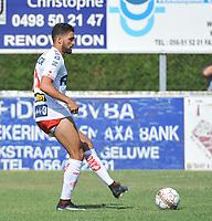 Oefenmatch KSK GELUWE - KV KORTRIJK :<br /> Elohim Rolland (KV Kortrijk)<br /> <br /> Foto VDB / Bart Vandenbroucke