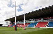 June 4th 2017, AJ Bell Stadium, Salford, Greater Manchester, England;  Rugby Super League Salford Red Devils versus Wakefield Trinity;  Inside the AJ Bell Stadium