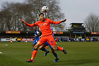 Lee Gregory of Millwall during AFC Wimbledon vs Millwall, Emirates FA Cup Football at the Cherry Red Records Stadium on 16th February 2019