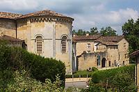 France, Aquitaine, Landes (40) , Hastingues: Abbaye d'Arthous /  France, Aquitaine, Landes, Hastingues: Arthous abbey