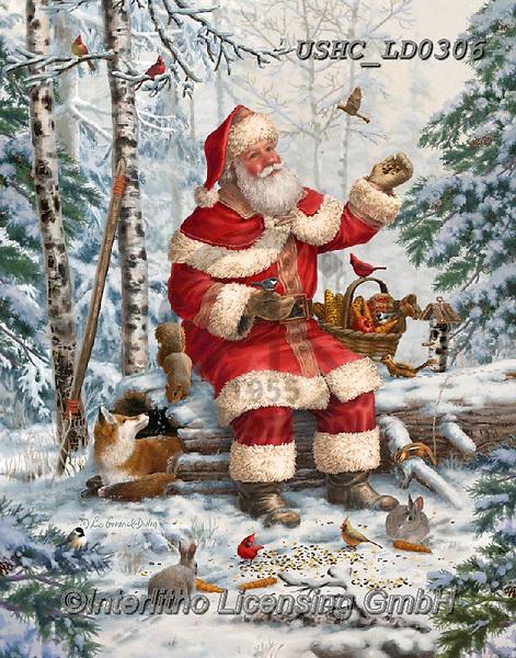 Liz,CHRISTMAS SANTA, SNOWMAN, WEIHNACHTSMÄNNER, SCHNEEMÄNNER, PAPÁ NOEL, MUÑECOS DE NIEVE, LizDillon, paintings+++++,USHCLD0306,#X#