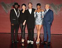 will.i.am, Emma Willis, Gavin Rossdale, Jennifer Hudson, Sir Tom Jones at The Voice - finalists red carpet at LH2 Studios, London on March 29th 2017<br /> CAP/ROS<br /> &copy; Steve Ross/Capital Pictures /MediaPunch ***NORTH AND SOUTH AMERICAS ONLY***