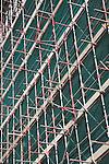 Urban redevelopment of docks, Ipswich Wet Dock, Suffolk, England University Campus Suffolk waterfront building under construction.