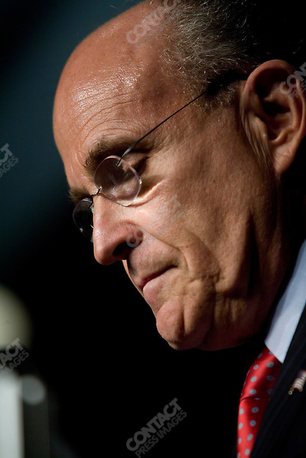 Rudy Giuliani, former Mayor of New York City, and potential 2008 Republican candidate, spoke at the Conservative Political Action Conference. Washington, D.C., March 2, 2007. ...