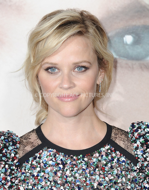 www.acepixs.com<br /> <br /> February 7 2017, LA<br /> <br /> Reese Witherspoon arriving at the premiere Of HBO's 'Big Little Lies' at the TCL Chinese Theatre on February 7, 2017 in Hollywood, California.<br /> <br /> By Line: Peter West/ACE Pictures<br /> <br /> <br /> ACE Pictures Inc<br /> Tel: 6467670430<br /> Email: info@acepixs.com<br /> www.acepixs.com