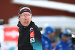 Quentin Fillon Maillet (FRA) at the Sprint Men Event of the IBU World Championships Biathlon 2019 Ostersund  Sprint Men Event in Ostersund, Sweden on March 9, 2019; <br />  © Pierre Teyssot