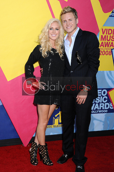 Heidi Montag and Spencer Pratt <br />at the 2008 MTV Video Music Awards. Paramount Pictures Studios, Los Angeles, CA. 09-07-08<br />Dave Edwards/DailyCeleb.com 818-249-4998