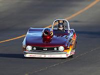 Jul 28, 2017; Sonoma, CA, USA; NHRA super gas driver Marko Perivolaris during qualifying for the Sonoma Nationals at Sonoma Raceway. Mandatory Credit: Mark J. Rebilas-USA TODAY Sports