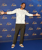 Will Smith at the 'Aladdin' Cast Photocall in the Rosewood Hotel, Holborn, London on May 10th 2019<br /> CAP/ROS<br /> &copy;ROS/Capital Pictures