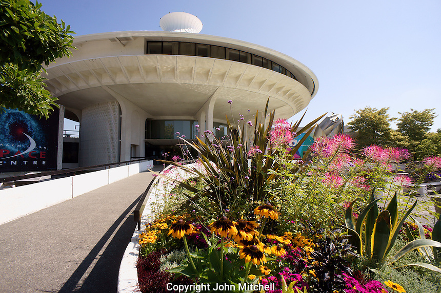 The H. R. Macmillan Space Centre planitarium and Vancouver Museum, Vancouver, BC, Canada