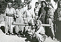 Iraq 1963.In Qara Dagh, first left,Mohamed Saleh, second,Sheikh Mohamed Kasnazani, third, Sheikh Rauf sheikh Aref,seating Mahmud sheikh Sader, third, Sheikh Rauf sheikh Aref,seating Mahmud sheikh Sader