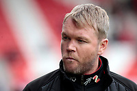 Doncaster Rovers manager Grant McCann looks on before kick off<br /> <br /> Photographer David Shipman/CameraSport<br /> <br /> The EFL Sky Bet League One - Doncaster Rovers v Fleetwood Town - Saturday 6th October 2018 - Keepmoat Stadium - Doncaster<br /> <br /> World Copyright © 2018 CameraSport. All rights reserved. 43 Linden Ave. Countesthorpe. Leicester. England. LE8 5PG - Tel: +44 (0) 116 277 4147 - admin@camerasport.com - www.camerasport.com