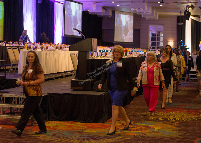 A photograph during the 26th Annual Salute to Women of Achievement Luncheon held at the Grand Sierra Resort on Thursday, May 25, 2017.