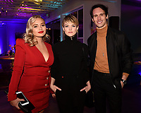 LOS ANGELES, CA - FEBRUARY 6:  L-R: THE GIFTED cast member Natalie Alyn Lind, GOTHAM cast members Erin Richards and Cory Michael Smith attends the FOX Winter TCA 2019 All Star Party at The Fig House on February 6, 2019 in Los Angeles, California. (Photo by Frank Micelotta/Fox/PictureGroup)