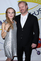 "WEST HOLLYWOOD, CA - NOVEMBER 13: Jeannie Gaffigan, Jim Gaffigan at the ""Stand Up For Gus"" Benefit held at Bootsy Bellows on November 13, 2013 in West Hollywood, California. (Photo by Xavier Collin/Celebrity Monitor)"