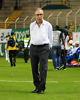 PALMIRA - COLOMBIA, 03-02-2018:Gerardo Pelusso director técnico del Deportivo Cali durante su encuentro contra Envigado l partidopor la fecha 1 de la Liga Águila II 2018 jugado en el estadio Deportivo Cali. / Gerardo Pelusso coach of Deportivo Cali during match agaisnt of Envigado during match between Deportivo Cali and Envigado for the date 1 of the Aguila League I 2018 played at Deportivo Cali stadium. Photo: VizzorImage/ Nelson Rios  / Contribuidor