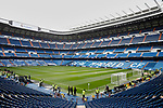 General view of Santiago Bernabeu Stadium