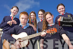 Ballyduff CNS pupils who are through to the County Semi-Final of Scor na bPaisti, front l-r: Sean Williams, Jasmine Griffin. Back l-r: Kate Kearney, Donna O'Rourke, Sophie Flynn and Maura Ross.