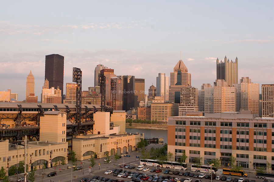 Pittsburgh Skyline - PNC Park, North Shore