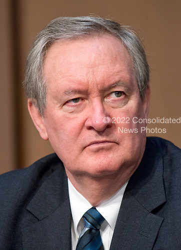 United States Senator Mike Crapo (Republican of Idaho)  listens as Judge Neil Gorsuch testifies before the United States Senate Judiciary Committee on his nomination as Associate Justice of the US Supreme Court to replace the late Justice Antonin Scalia on Capitol Hill in Washington, DC on Monday, March 20, 2017.<br /> Credit: Ron Sachs / CNP<br /> (RESTRICTION: NO New York or New Jersey Newspapers or newspapers within a 75 mile radius of New York City)