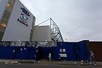 Everton 2 Wolves 1, 19/11/2011. Goodison Park, Premier League. Goodison Park exterior. Photo by Paul Thompson.