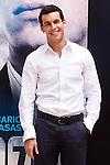 """Presentation at the Intercontinental Hotel in Madrid of the film """"Group 7"""" with the presence of the actors Mario Casas, Antonio de la Torre, Inma Cuesta, Jose Manuel Poga, Joaquin Nunez, director Alberto Rodriguez, and producer Jose Antonio Fellez. In the picture: Mario Casas..(Alterphotos/Marta Gonzalez)"""
