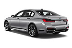 Car pictures of rear three quarter view of a 2020 BMW 7-Series  M-Sport 4 Door Sedan angular rear