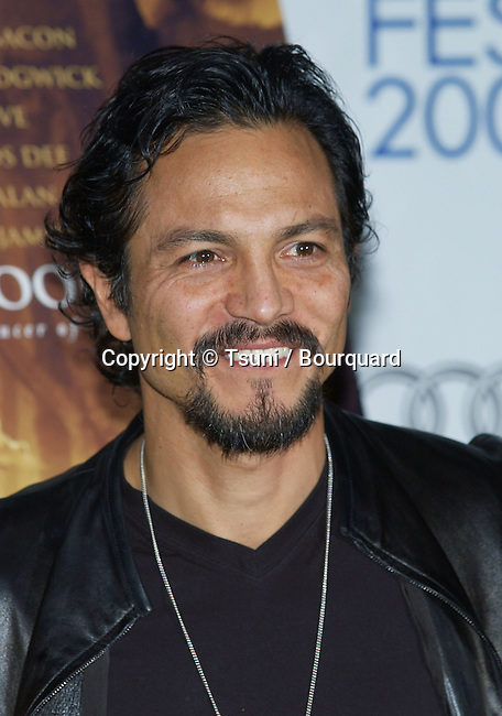 Benjamin Bratt at The Woodsman Premiere at the AFI Film Festival, Arclight Theatre in Los Angeles. November 5, 2004.