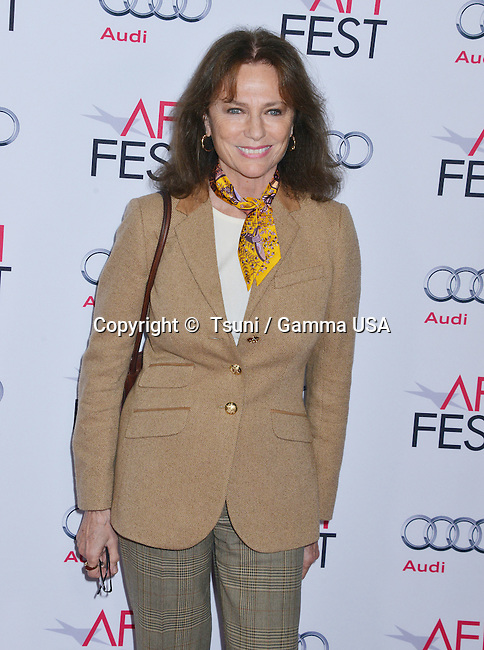 Jacqueline Bissett 051  at The Homesman Premiere at the Dolby Theatre on Nov. 11, 2014 in Los Angeles.