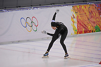 OLYMPICS: SOCHI: Adler Arena, 11-02-2014, 500m Ladies, Heather Richardson (USA), ©foto Martin de Jong