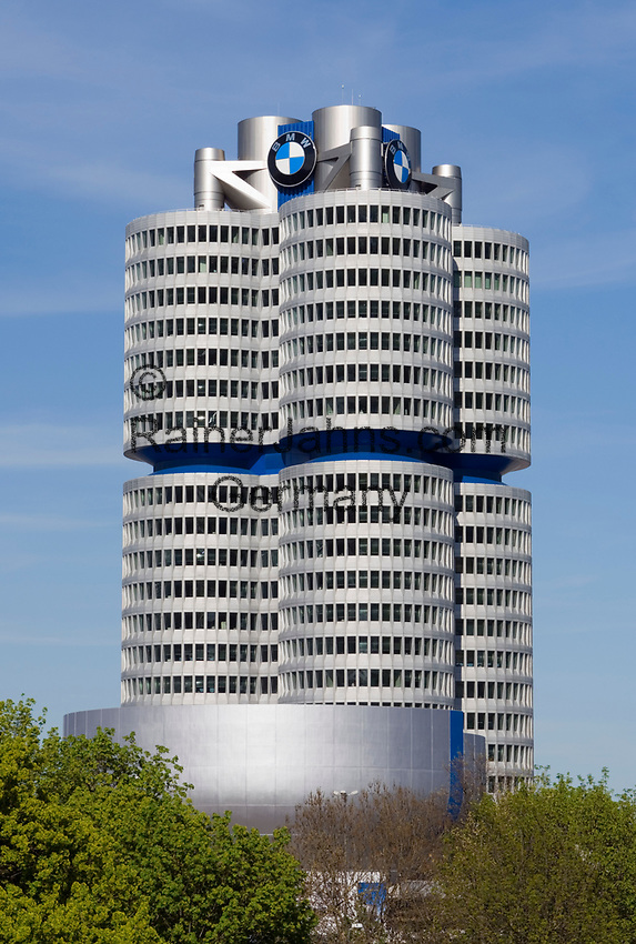 Deutschland, Bayern, Oberbayern, Muenchen: BMW-Gebaeude   Germany, Bavaria, Upper Bavaria, Munich: BMW building