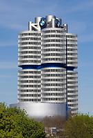 Deutschland, Bayern, Oberbayern, Muenchen: BMW-Gebaeude | Germany, Bavaria, Upper Bavaria, Munich: BMW building