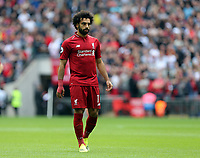 Mohamed Salah of Liverpool during Tottenham Hotspur vs Liverpool, Premier League Football at Wembley Stadium on 15th September 2018