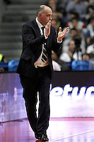Real Madrid's Pablo Laso during Euroliga quarter final match. April 10,2013.(ALTERPHOTOS/Alconada) /NortePhoto