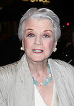 Angela Lansbury.exiting the Stager Door after  the Broadway Opening Night Performance of 'Gore Vidal's The Best Man' at the Gerald Schoenfeld Theatre in New York City on 4/1/2012