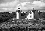 Curtis Island Light in Camden Maine